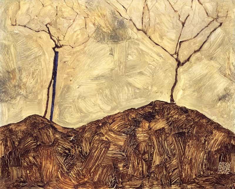 Landscapes Egon Schiele